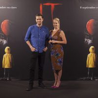 Andy Muschietti and Barbara Muschietti at ?It? presentation in Madrid
