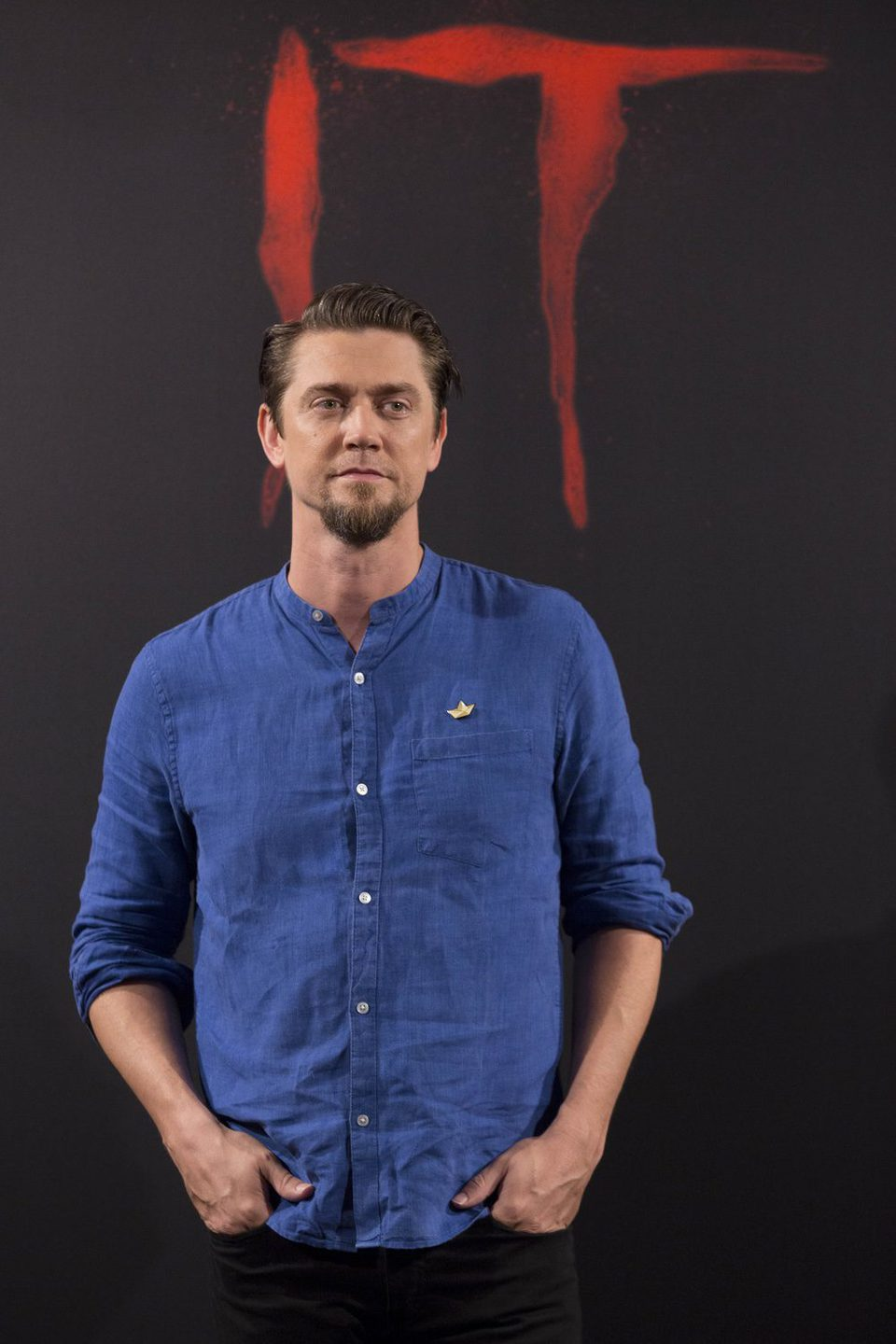 Andy Muschietti at 'It' presentation in Madrid