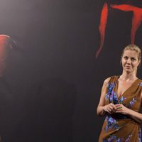 Barbara Muschietti poses with nobody else at 'It' presentation in Madrid