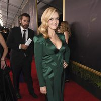 Samantha Bee at the Emmy 2017 red carpet