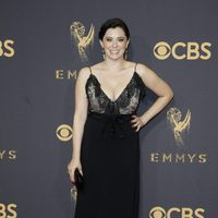 Rachel Bloom at the Emmy 2017 red carpet