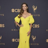 Angela Sarafyan at the Emmy 2017 red carpet