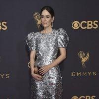 Sarah Paulson at the Emmys 2017 red carpet