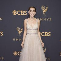 Kiernan Shipka at the Emmys 2017 red carpet