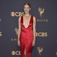 Yvonne Strahovski at the Emmys 2017 red carpet
