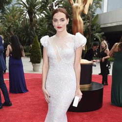 Madeline Brewer at the Emmys 2017 red carpet