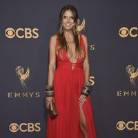 Heidi Klum at the Emmys 2017 red carpet