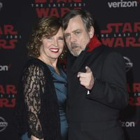 Mark Hamill and his wife Marilou at the Star Wars: The Last Jedi premiere