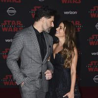 Joe Manganiello and Sofia Vergara at the Star Wars: The Last Jedi premiere