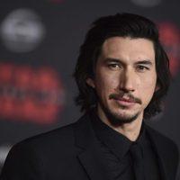 Adam Driver at the premiere of 'Star Wars: The Last Jedi'