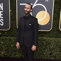 Joseph Fiennes al the red carpet of the Golden Globes 2018