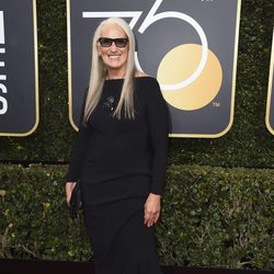 Jame Campion at the Golden Globe's red carpet 2018