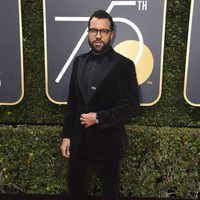 O. T. Fagbenle at the Golden Globes 2018 red carpet