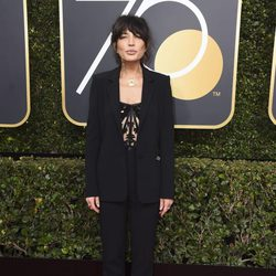 Reed Morano at the red carpet of the Golden Globes 2018