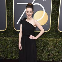 Rachel Brosnahan at the red carpet of the Golden Globes 2018