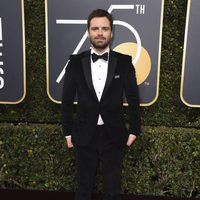 Sebastian Stan at the Golden Globe's red carpet 2018