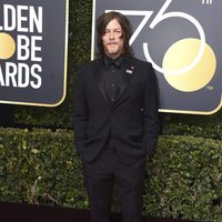 Norman Reedus at the red carpet of the Golden Globes 2018