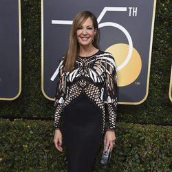 Allison Janney at the red carpet of the Golden Globes 2018