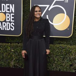 Ava DuVernay at the red carpet of the Golden Globes 2018