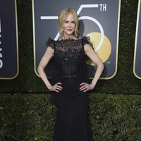 Nicole Kidman at the Golden Globe's red carpet 2018
