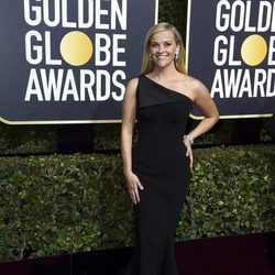 Reese Witherspoon ath the Golden Globe's red carpet 2018