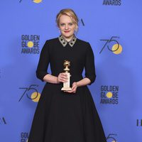 Elisabeth Moss wins Best Tv Actress of Drama Golden Globe 2018