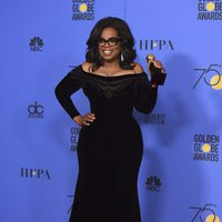 Oprah Winfrey with honorific Golden Globe