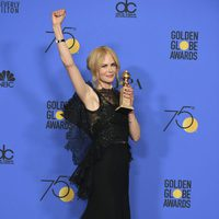 Nicole Kidman  wins best actress in Miniserie at Golden Globes 2018