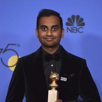 Aziz Ansari wins Best Tv Actor at Comedy or Musical Golden Globe 2018