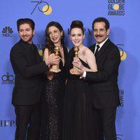 'The Marvelous Mrs. Maisel' wins Best Tv Comedy Golden Globe 2018