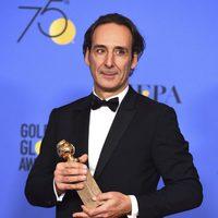 Alexander Desplat wins best music at Golden Globes 2018