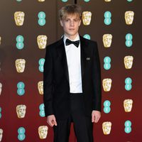 Tom Taylor at the BAFTA's 2018 red carpet