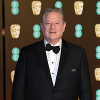 AL Gore at the BAFTA AWARDS' 2018 red carpet