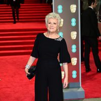 Julie Walters at the BAFTAs 2018 red carpet