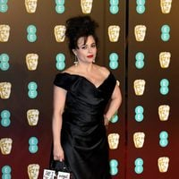 Helena Bonham Carter at the BAFTAs 2018 red carpet