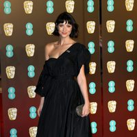 Caitriona Balfe at the BAFTA Awards' 2018 red carpet