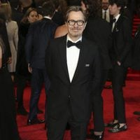 Gary Oldman at the BAFTA Awards' 2018 red carpet