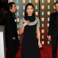Gugu Mbatha-Raw at the BAFTA Awards' 2018 red carpet