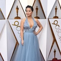 Kelly Marie Tran at the 2018 Oscars red carpet