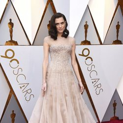Allison Williams at the 2018 Oscars red carpet