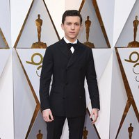 Tom Holland on the red carpet at the Oscar 2018