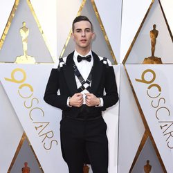 Adam Rippon at the Oscars 2018 red carpet