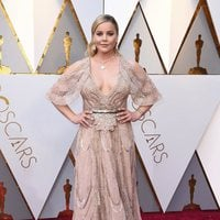 Abbie Cornish at the red carpet of the Oscars 2018