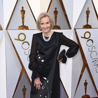 Eva Marie Saint at the red carpet of the Oscars 2018