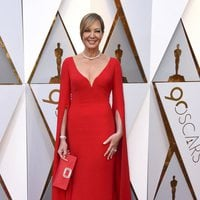 Allison Janney on the Oscar 2018 red carpet