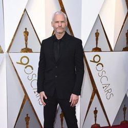Martin McDonagh at the Oscar 2018 red carpet