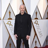 Martin McDonagh at the Oscar 2018 red carpet