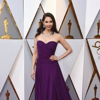 Ashley Judd at the red carpet of the Oscars 2018
