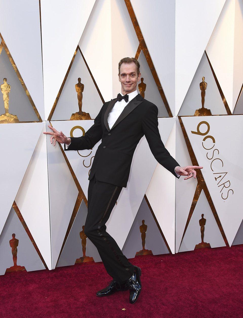 Doug Jones at the Oscars 2018 red carpet