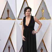 Rachel Morrison at the Oscars 2018 red carpet